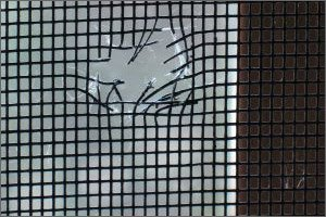 Screen Repair Company Canton MI - Window Screen Fixing | Diamond ProClean - Hole_In_Screen